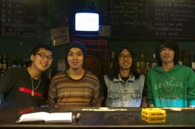 Chongqing Nuts bartenders
