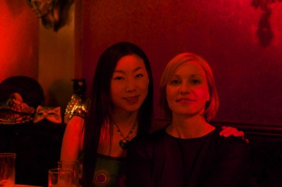 Me and Nagame from the Swedish Embassy